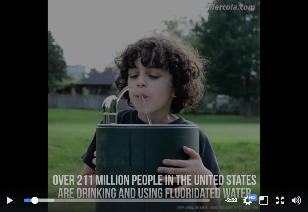 Fluoride Water Dangers
