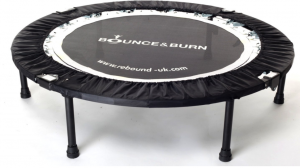 Bounce Burn Mini Trampoline Rebounder