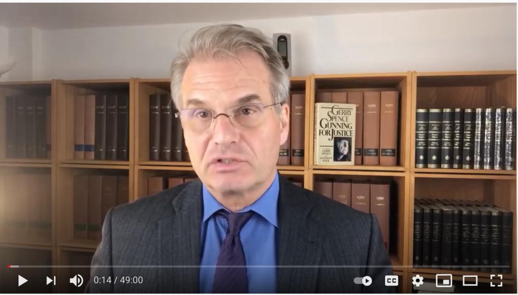 German Lawyer Reiner Fuellmich